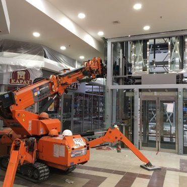 Osteklenie liftovyh shaht